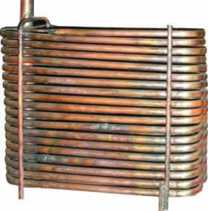 Copper Tube evaporator photo